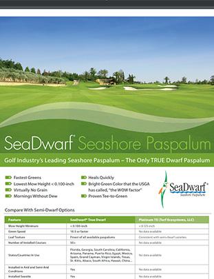 SeaDwarf® versus Platinum TE™