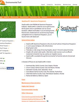 SeaDwarf® Website