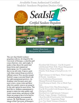 Sea Isle 1 Website