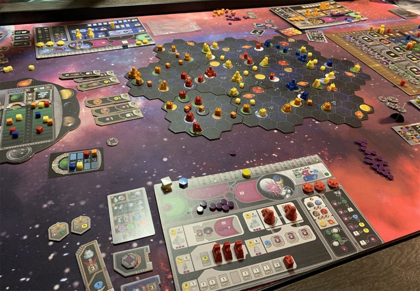 Board Game Review: Gaia Project