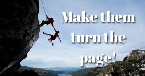 Make then turn the page!