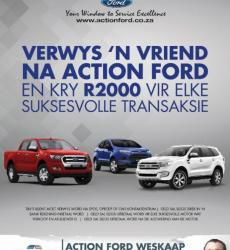 Action Ford Citrusdal @ 022 921 2150
