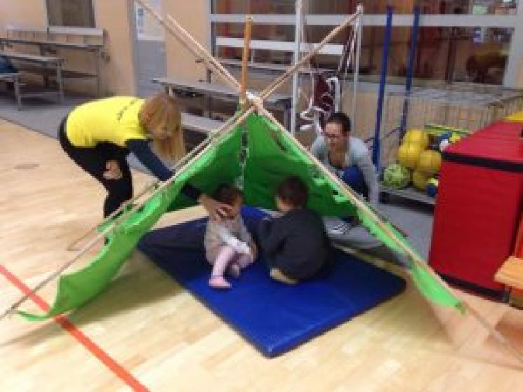 Šport za otroke v Centru Draš