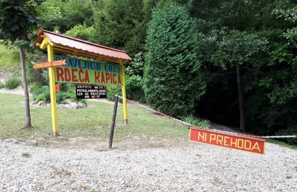 Pravljični gozd Rdeča kapica