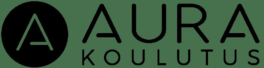 Aura koulutus_logo+symbol_black_Rgb
