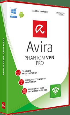 Avira Phantom VPN Pro v2.5.1.27035 - Eng