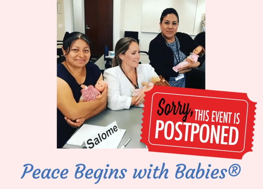 Peace begins with Babies