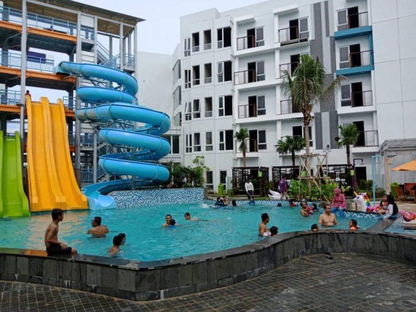 foto aqua boom waterpark bsb balikpapan