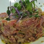 comida; Aluche; Madrid; Restaurante; Gastronomía; Comer en Madrid; cocina de mercado; Sidrería Pikondo; comer bien; dónde comer en Aluche; steak tartar; solomillo; ternera;