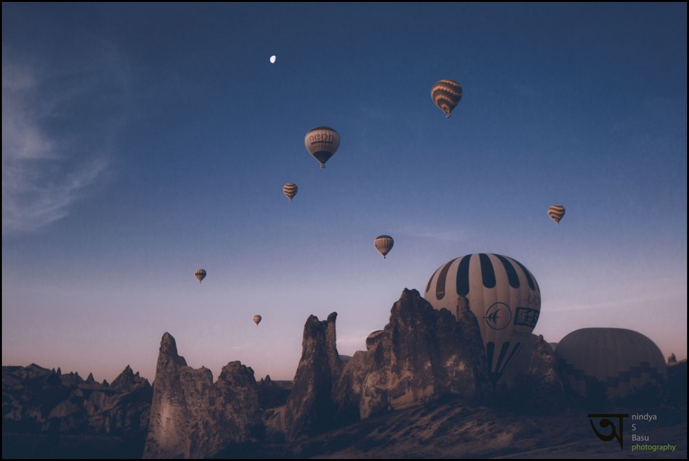 Hot air balloon ride in Cappadocia 4