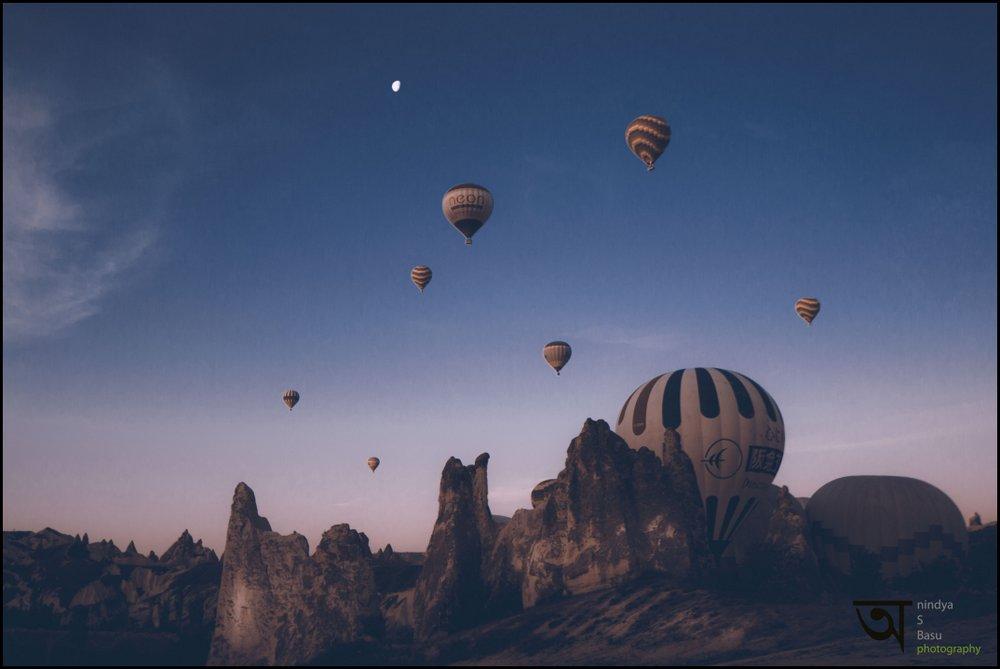 Hot air balloon ride in Cappadocia 4