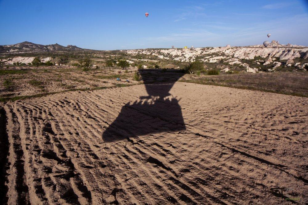 Hot air balloon ride in Cappadocia 9
