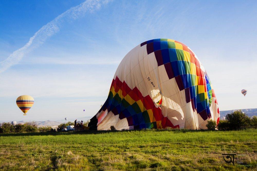 Hot air balloon ride in Cappadocia 11