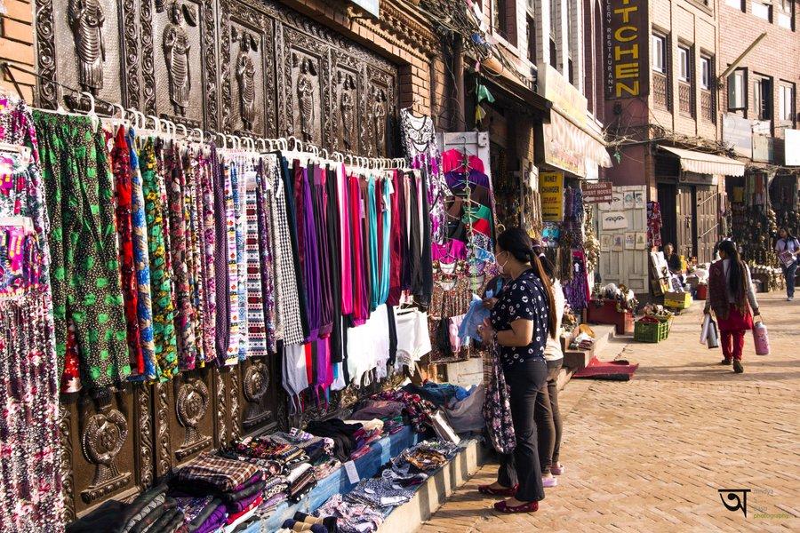 Shop at Boudhanath Stupa Kathmandu