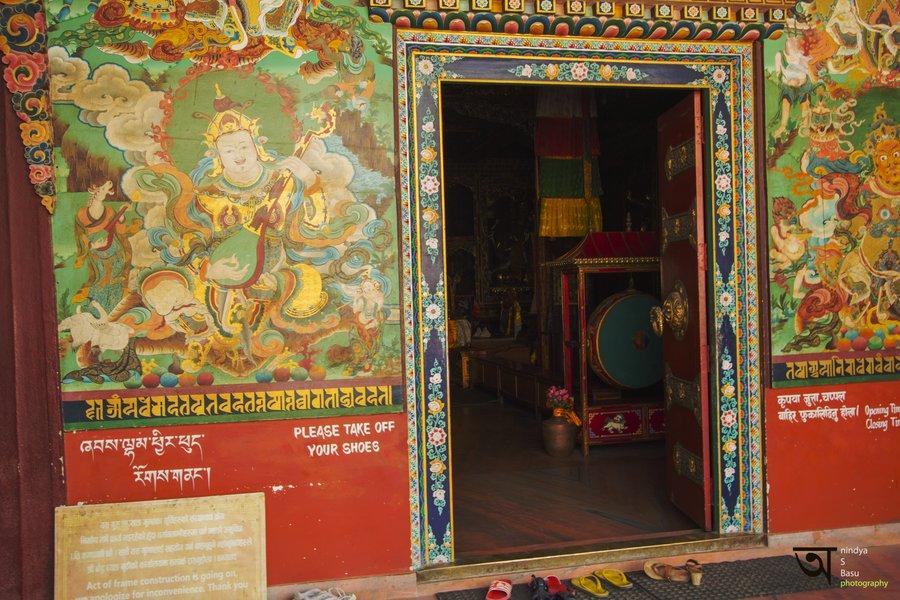 Tamang Gompa Entrance Boudhanath Stupa
