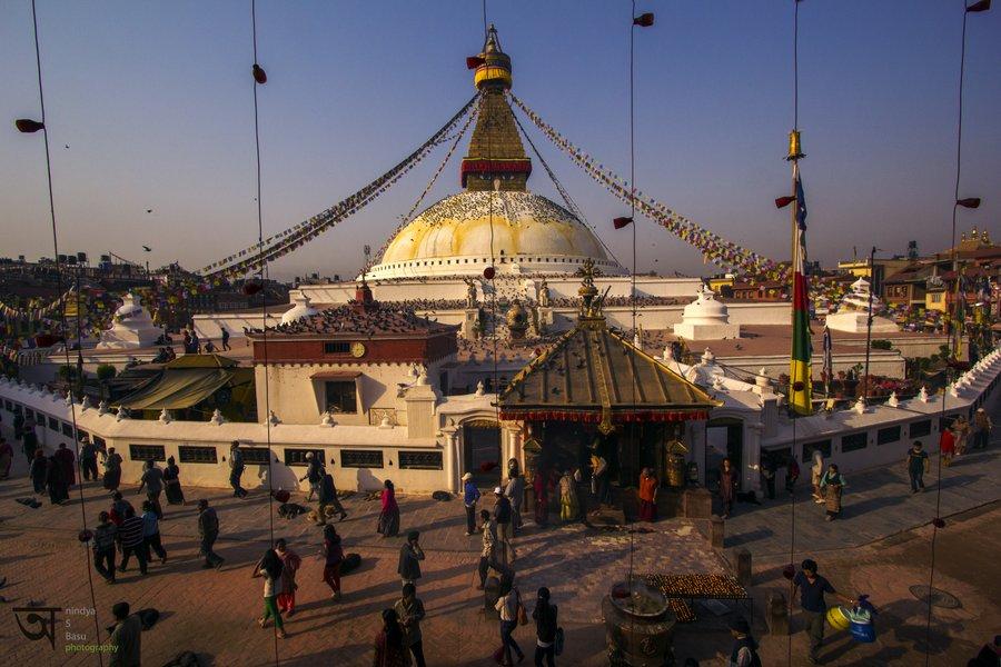 Boudhanath Stupa Tamang Gompa