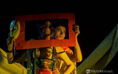 Fine Art photography – III. Ishita , her mask and alter ego