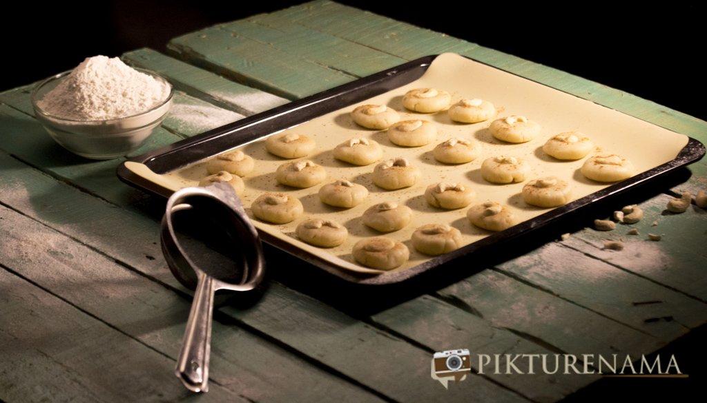 Nan Khatai the original Indian cookie with Dutch origin making process