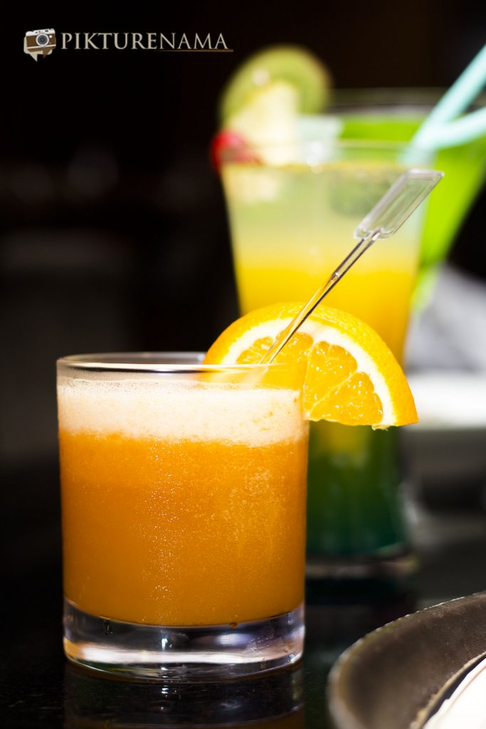 Just Peachy Mocktail at Casa Kitchen Kolkata Summer Time Soiree by Pikturenama