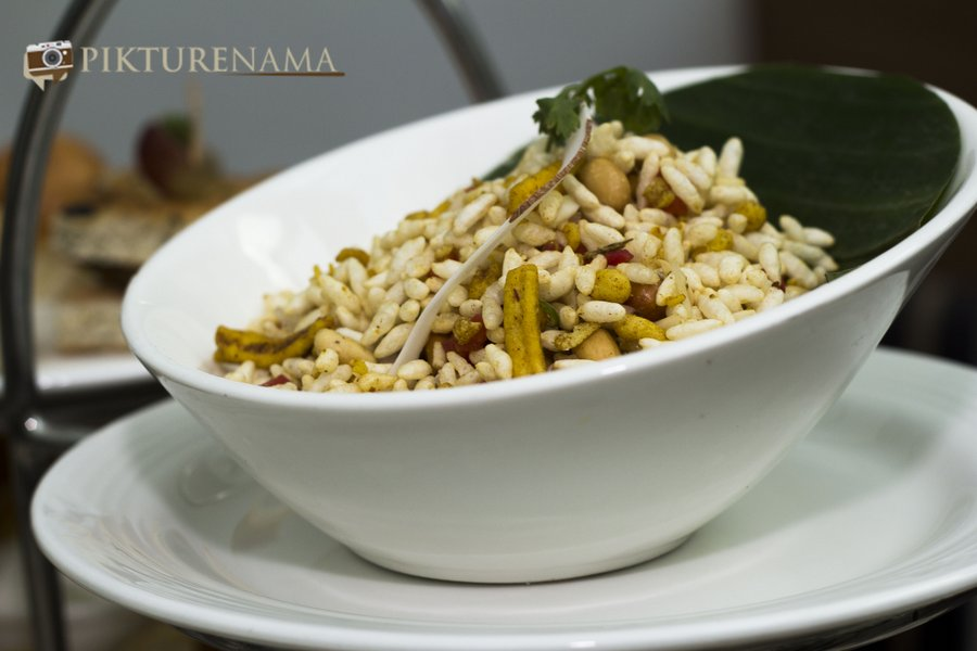 Pikturenama at The Lalit Great Eastern Kolkata Tea Lounge Jhalmuri