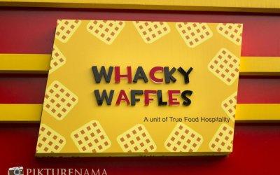 Whacky Waffles Kolkata – sinful indulgence