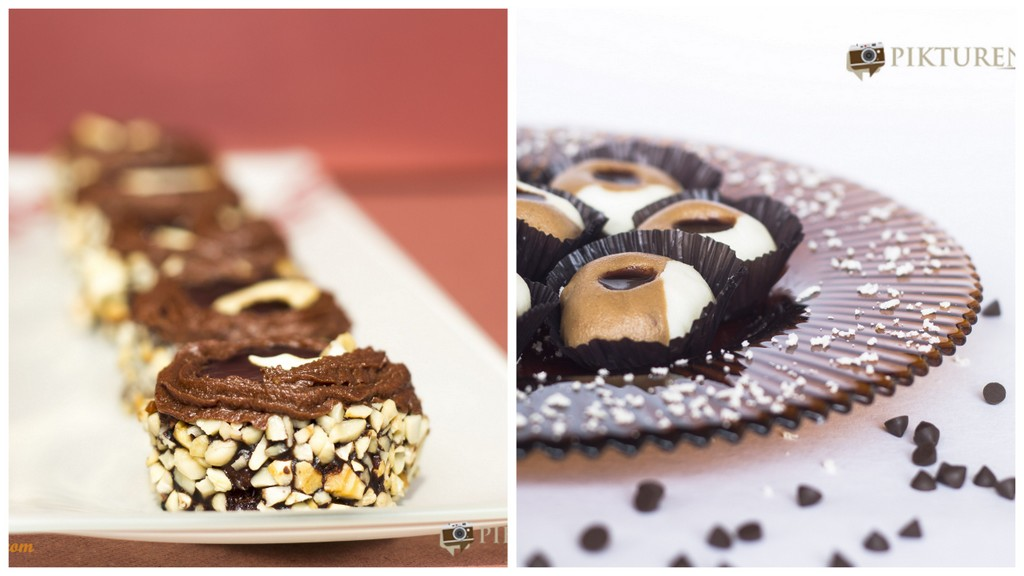 Chocolate Sandesh and Sweethandi