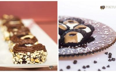 Chocolate Sandesh and Sweethandi