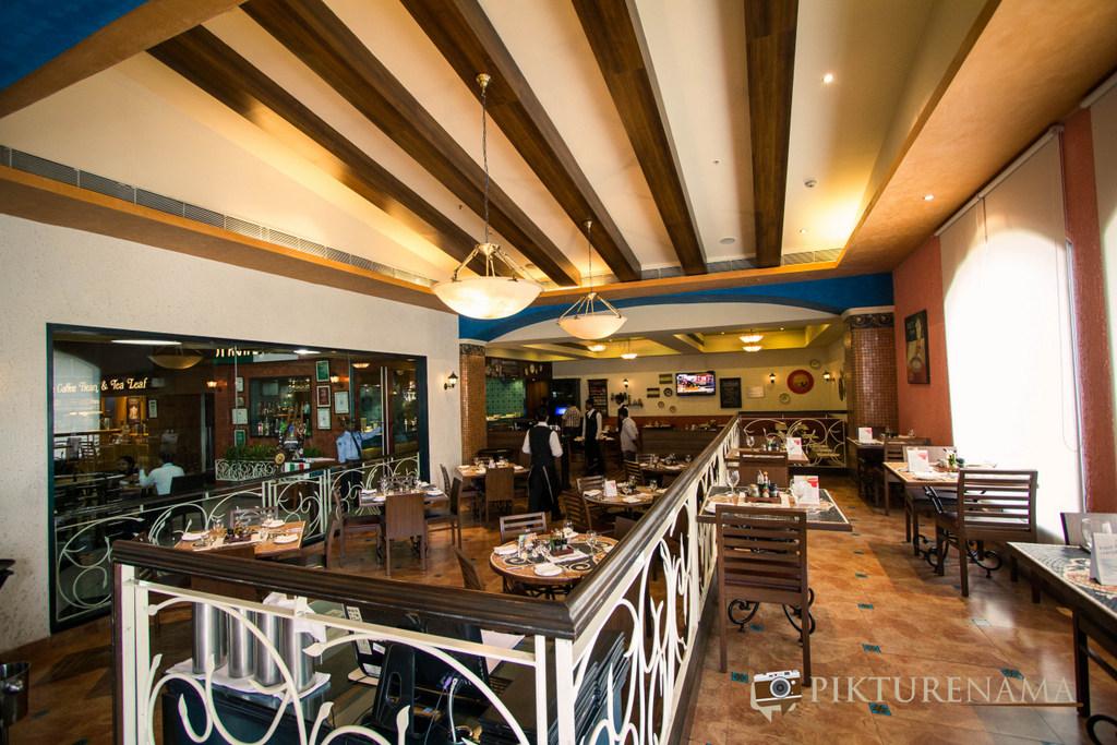 Spaghetti Kitchen Kolkata interiors