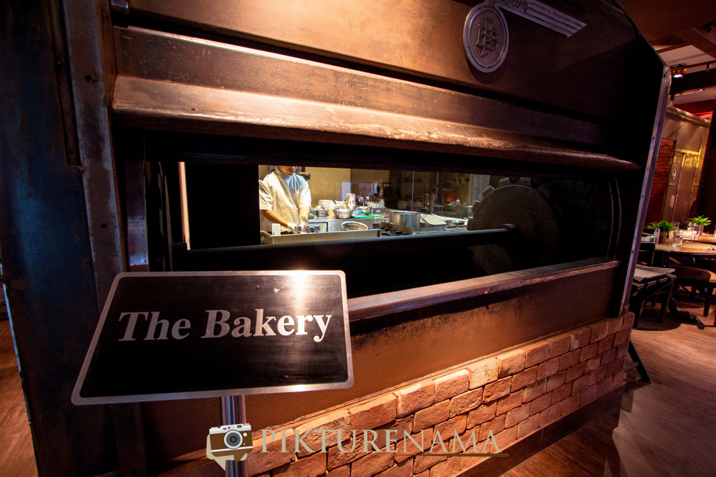 The famous grand old oven at The Lalit Great Eastern Bakery entrance