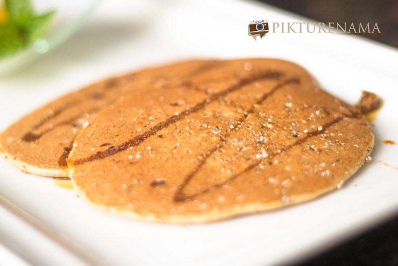 ITC Sonar Kolkata the pan cakes
