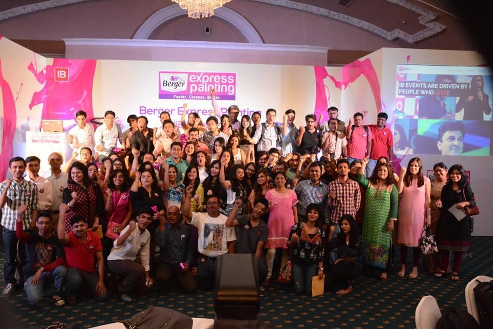 Berger Paints present Indiblogger Kolkata meet 18