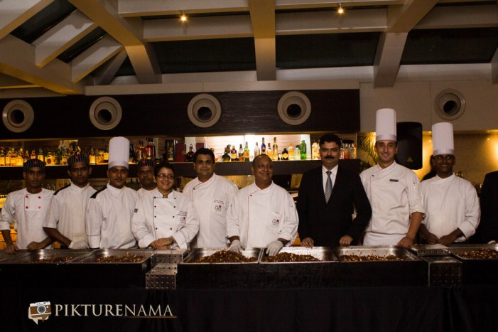 The team Christmas cake mixing at The Lalit Great Eastern Kolkata