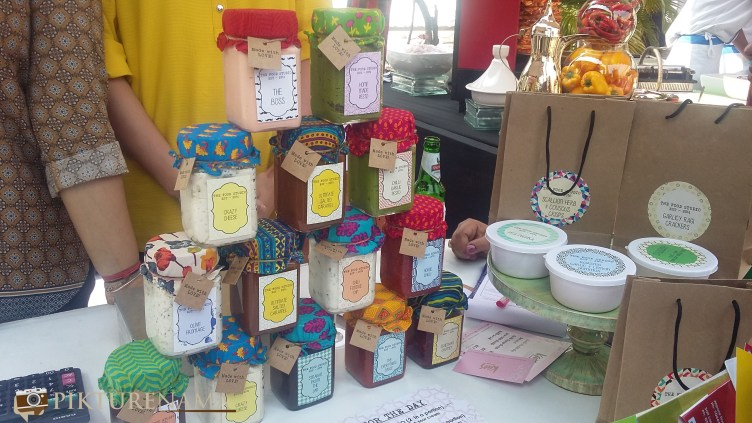 Sauces and dressings from the food studio in The farmers market kolkata by Karen Anand
