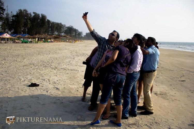 le le selfie le le re