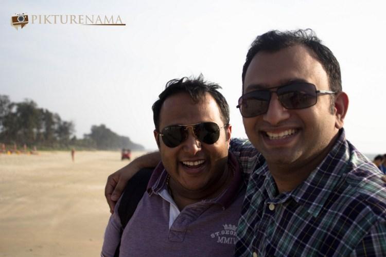 The best buddies - Sid and Roshan Macha