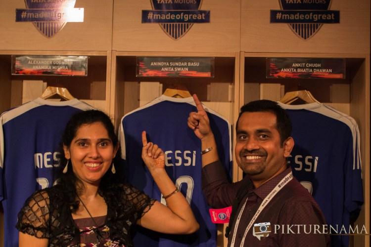 Anita and I Tata Zica meet by Tata Motors and Indiblogger