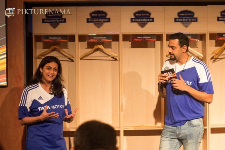 Delna and Cyrus at Tata Zica meet by Tata Motors and Indiblogger