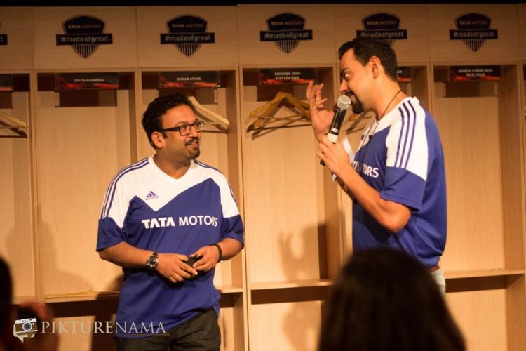 Pratap and Cyrus at Tata Zica meet by Tata Motors and Indiblogger