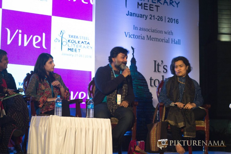 Vazira at Tata Steel Kolkata Literarury Meet day 2 Srijit
