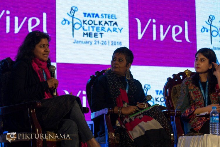 Vazira at Tata Steel Kolkata Literary Meet day 2 discussion