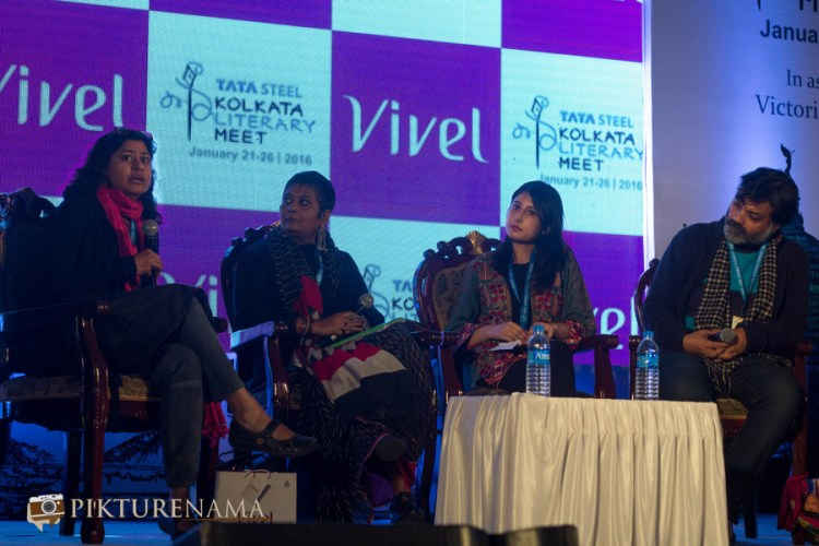Vazira at Tata Steel Kolkata Literary Meet day 2 scars