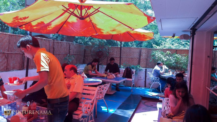 The hangout place at German Bakery Pune