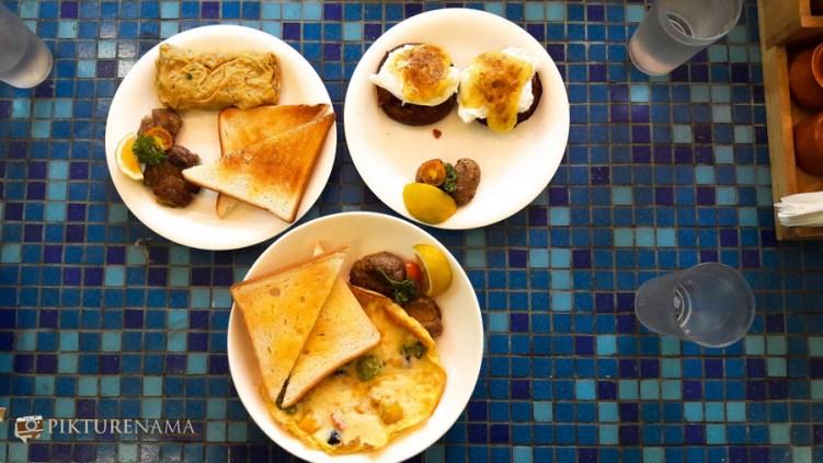feast of eggs at German Bakery Pune