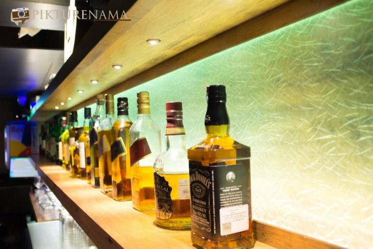 Wall Street Bar Kolkata the bar