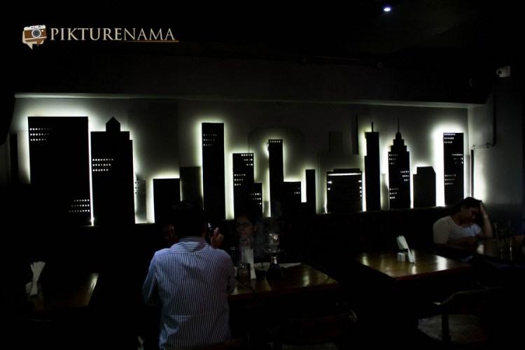 Wall Street Bar Kolkata the NYC skyline