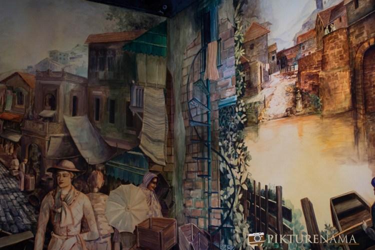 Barcelos Kolkata wall paintings 2