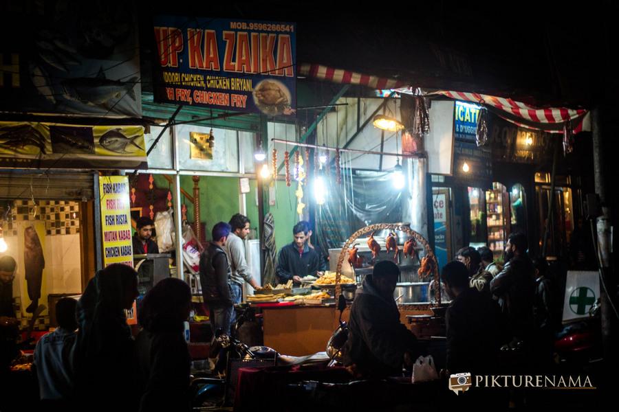 Khayam Chowk Srinagar – The Street food Gali
