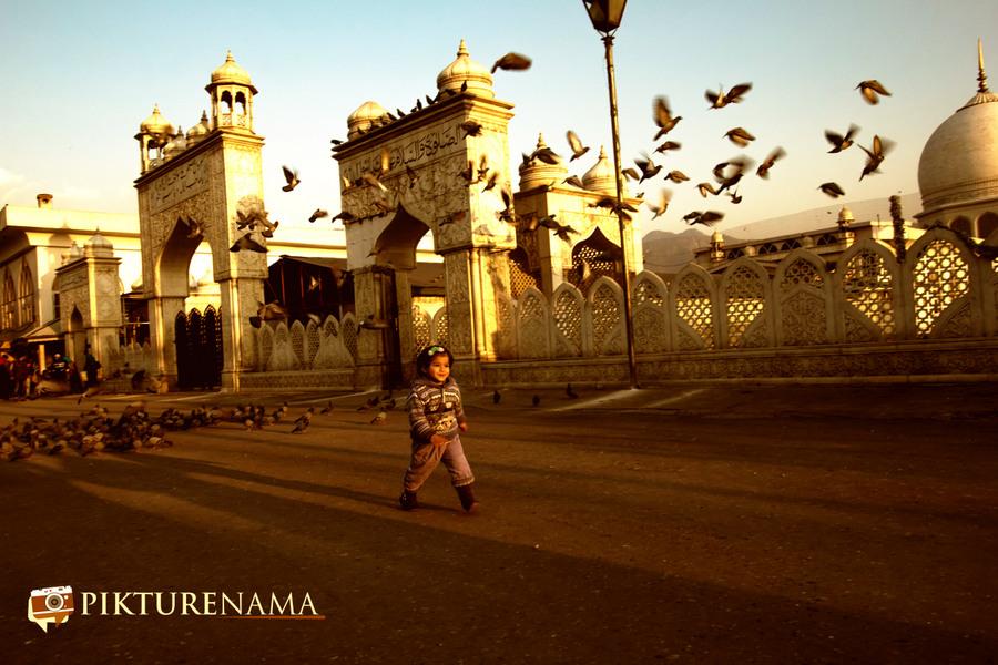 Hazratbal Srinagar the magic light