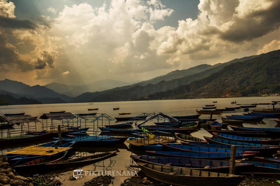 Phewa Lake Pokhara boat ride - 1