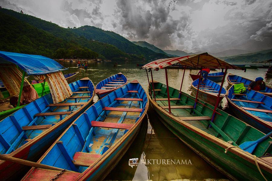 Phewa Lake Pokhara boat ride - 15
